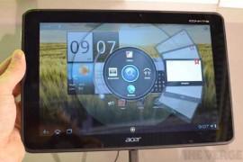 Acer تكشف عن جهاز لوحي جديد رباعي النواة