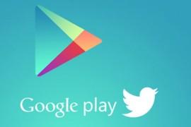 جوجل تبث عروض متجر تطبيقاتها على تويتر