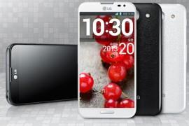 شركة LG تنشر اولى الصور لجهاز Optimus G Pro الجديد