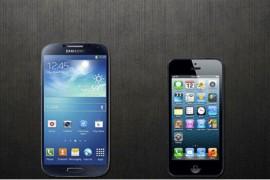 سبع خصائص وراء تفوق جالاكسي S4 على جهاز آيفون 5
