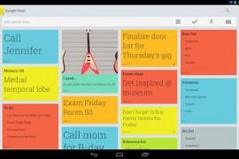 جوجل تطلق تطبيقا لتدوين الملاحظات لاجهزة الاندرويد