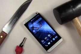 بالفيديو: اخضاع جهاز HTC One لاختبار شديد القسوة