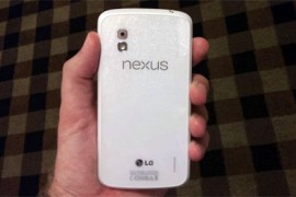 قريبا جهاز نيكسوس 4 ابيض اللون ونسخة اندرويد 4.3 جيلي بين