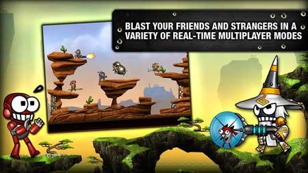 لعبة Blastron - مجانية