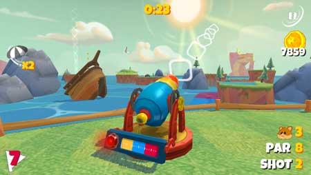 لعبة Boom Boom Hamster Golf - مجانية
