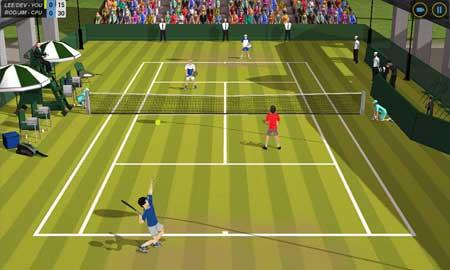 لعبة Flick Tennis - مجانية