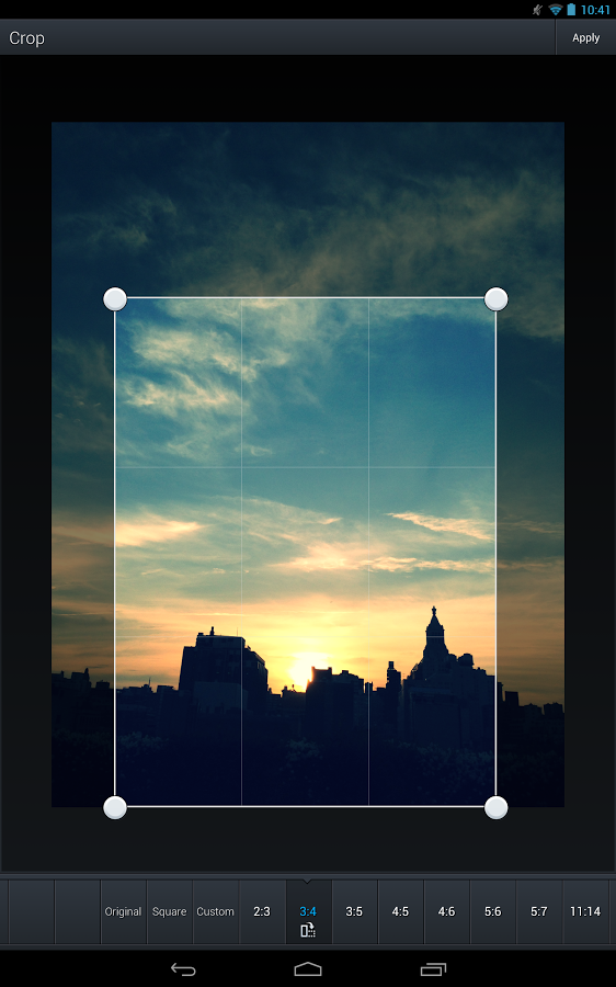 Aviary Top 10 apps for photo editing for Android