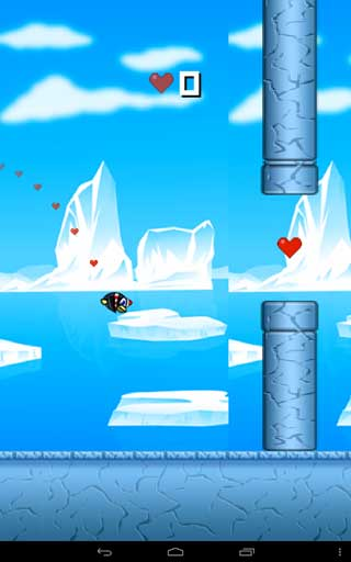 لعبة Flappy Penguin
