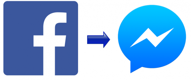الفيس بوك سيجبرك على تحميل Facebook Messenger من أجل إرسال وإستقبال الرسائل  | اندرويد العرب