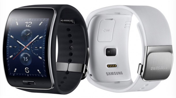 Smartwatch-Gear-S-Curved-AMOLED-Tizen-Black-White