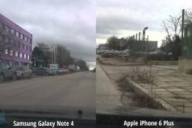 كاميرا Galaxy Note 4 تتفوق على كاميرا iPhone 6 Plus في إختبار الثبات