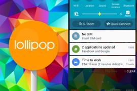 هاتف Samsung Galaxy S5 يحصل على تحديث Android 5.0 Lollipop في ماليزيا