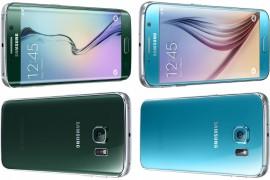 سامسونج تطلق أخيراً النسخة الزرقاء من Galaxy S6 والخضراء من S6 Edge
