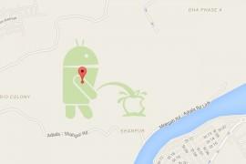 جوجل تغلق مؤقتاً خدمة صانع الخرائط بعد واقعة تبول الأندرويد على أبل