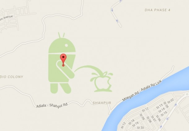 Android-Urinating-on-Apple