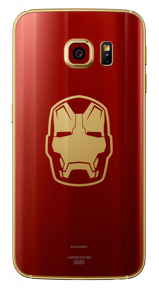سامسونج تكشف عن نسخة Iron Man من هاتف Galaxy S6 Edge