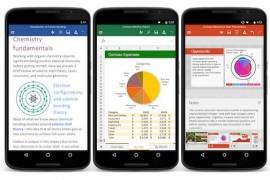 تطبيقات مايكروسوفت Word و Excel و PowerPoint متاحة الآن لكل هواتف الأندرويد