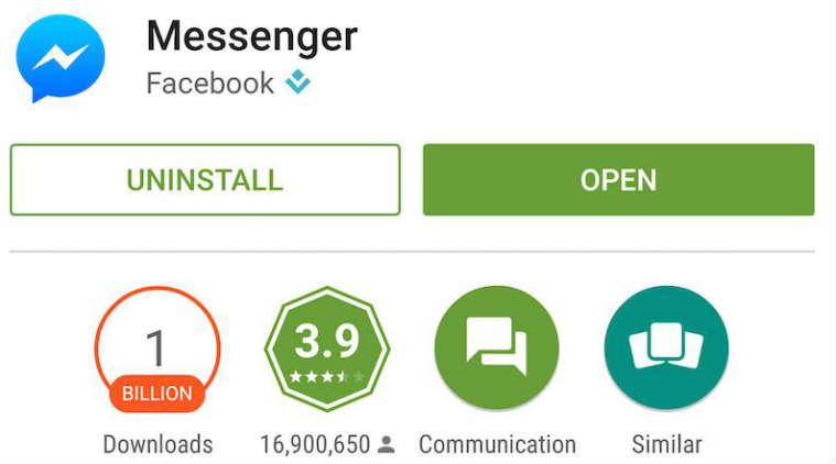 تحميل فيسبوك ماسنجر،Download facebook messenger free 2016