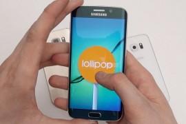 سامسونج تبدأ في إطلاق Android 5.1.1 لـ S6 Edge في مصر والجزائر