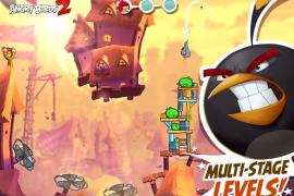 الجزء الثاني من لعبة Angry Birds على متجر Play