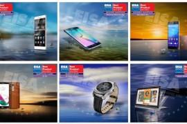 هواتف Huawei P8 و S6 Edge و +Xperia Z3 و LG G4 تحصد ألقاب جوائز EISA