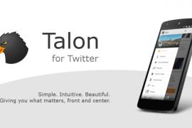 تطبيق Talon يحصل على تحديثات و يدعم نسخة Marshmallow