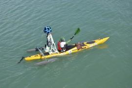 جوجل تستخدم قوارب الكاياك لتصوير سواحل ماليزيا في خدمة Street View