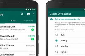 الآن يمكنك النسخ الإحتياطي لملفات الـ WhatsApp على Google Drive تلقائياً