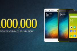 شايومي تبيع أزيد من مليون هاتف في الهند!