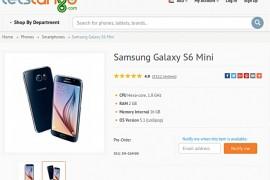 رصد هاتف Galaxy S6 Mini على موقع تسوق إماراتي