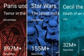 أكثر 10 هواتف ولوحيات بحثاً على جوجل خلال عام 2015