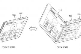 سامسونغ تسجل براءة إختراع هاتف يتحول إلى جهاز لوحي