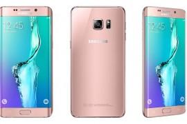 النسخة الذهبية الزهرية من +Samsung Galaxy S6 Edge تظهر في الصين