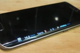 أصحاب هواتف Galaxy S6 Edge يعانون من مشكلة في الشاشة