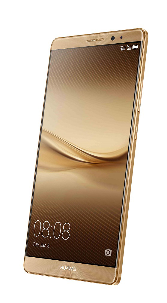 Huawei Mate 8 - Gold - Front