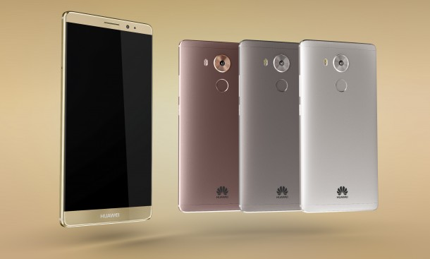 Huawei Mate 8 is available in four colors