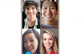 خاصية مكالمات الفيديو الجماعية تصل إلى تطبيق Skype
