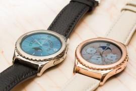 شركة Samsung توفر ساعتها الذكية Gear S2 Classic باللون الذهب