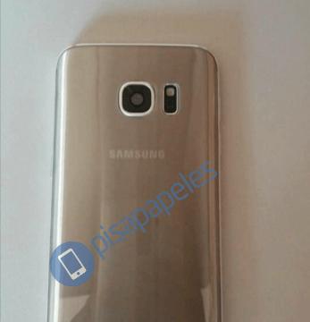 تسريب يظهر هاتف Galaxy S7  باللون الذهبي