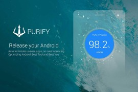تطبيق Purify  جيد وفعال لحفظ موارد البطارية