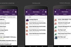 تطبيق Work Folders لمزامنة الملفات وتشفيرها