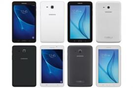 تسريب صور لوحيات سامسونج القادمة Galaxy Tab A و Tab E