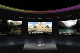 تشغيل وتحميل فيديوهات VR عن طريق تطبيق Samsung Milk VR دون الحاجة لنظارة Gear VR