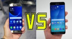 مقارنة بين كاميرا Galaxy S7 و Note 5: من الأفضل؟ (صور)