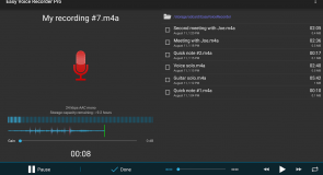 تطبيق Easy Voice Recorder لتسجيل الأصوات على الأندرويد