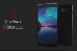 الإعلان الرسمي عن هاتف OnePlus 3 يوم 14  يونيو