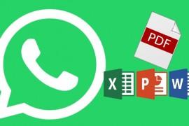 كيف يمكن إرسال  ملف PDF على واتس آب؟