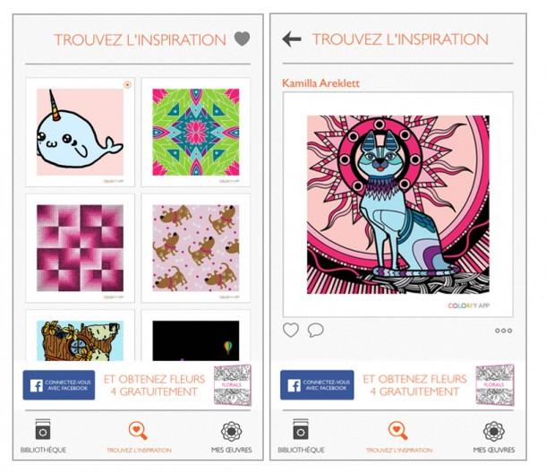 application-colorfy-modeles