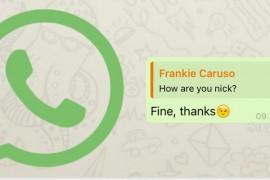 كيف يمكنك الرد على رسالة بعينها في مجموعة واتس آب؟