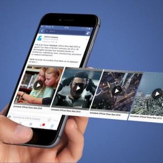 """تحديث جديد لفيس بوك لتغيير طريقة عرض """" مقاطع الفيديو"""""""